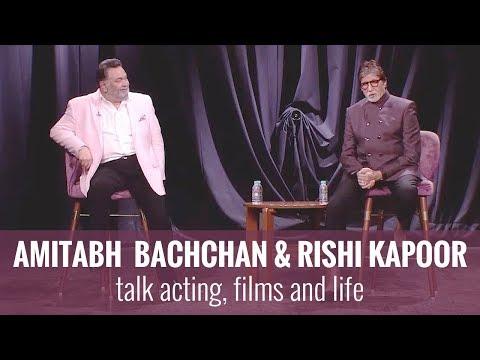 Amitabh Bachchan & Rishi Kapoor | In Conversation