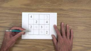 Teach Your Child H๐w to Solve 4 x 4 Sudoku Puzzles