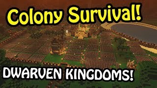 WORLD-STRETCHING COLONY! - Colony Survival Gameplay | Colony Survival Colonies #6