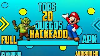 20 Juegos Mod Hack Solo Apk Para Android.