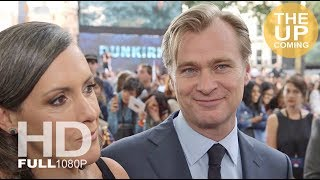 Christopher Nolan interview at Dunkirk world premiere with Emma Thomas