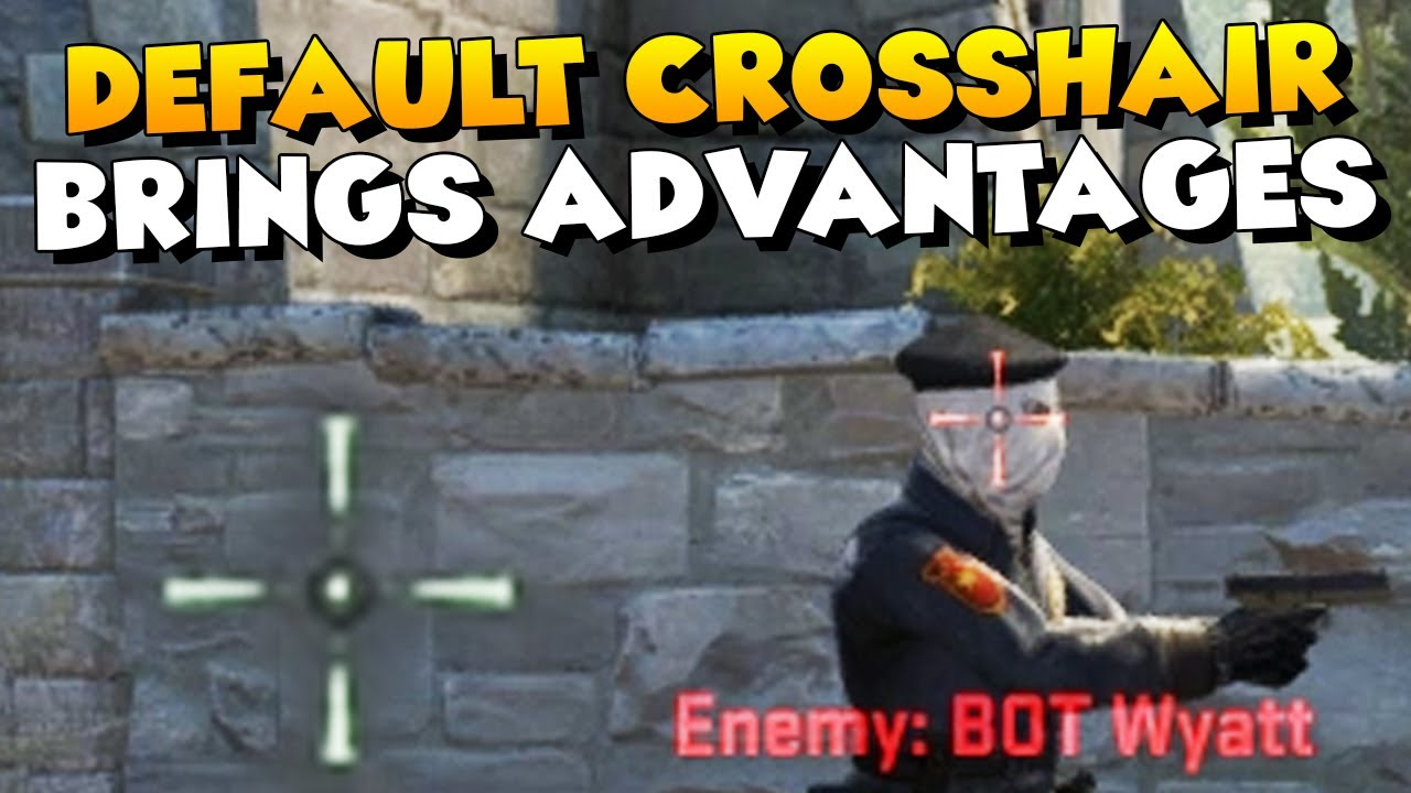 CS:GO - Why Playing Default Crosshair Brings Advantages ...