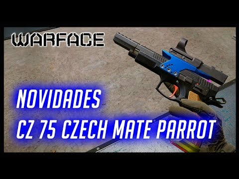 WARFACE PC NOVIDADES CZ 75 Czech Mate Parrot thumbnail