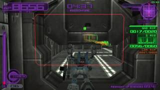 Silent Line: Armored Core - Foxeye destroys Power Core