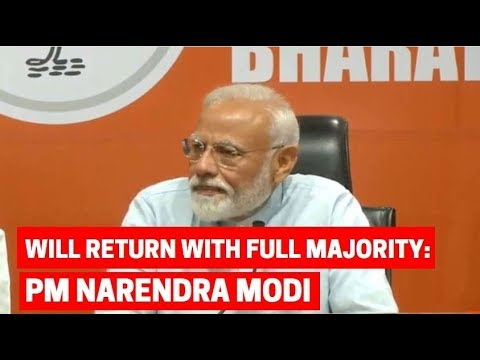 BJP will form govt with full majority for second time: PM Modi