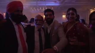 Harpreet & Kuljit | Montreal Wedding Reception | Jannat Productionz ft DJ JSG | Mont Blanc Laval