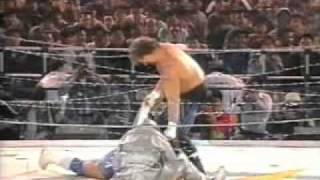 FMW - Atsushi Onita vs Terry Funk (No-rope Exploding Barbwire Timebomb Deathmatch)