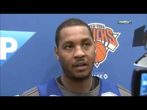 Carmelo Anthony on the evolving relationship with head coach Jeff Hornacek