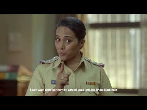Lagao #MuhPeTaala  | Safe Banking Initiative from Axis Bank and Mumbai Police