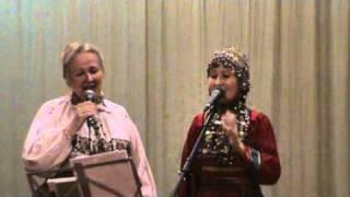 Марийские песни в исполнении Анюты Мишиной