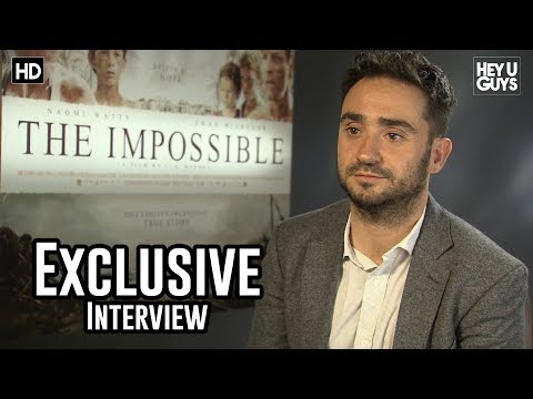 Director Juan Antonio Bayona  The Impossible Exclusive
