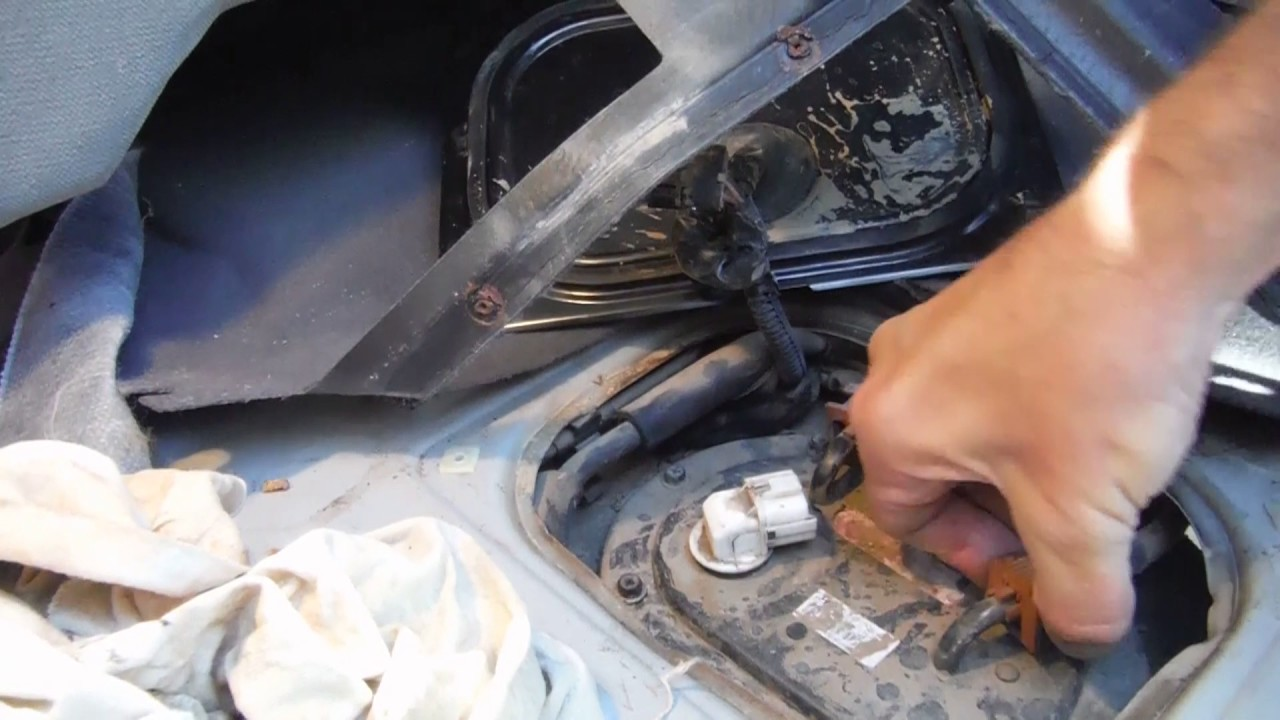 diy 2005 hyundai tucson fuel pump replacement