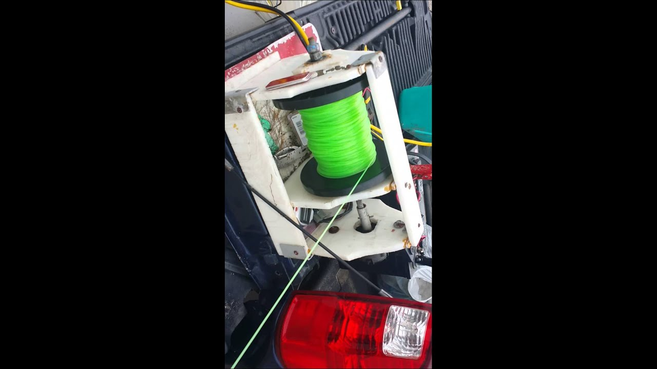 Motor sail line youtube for Fishing line for sale