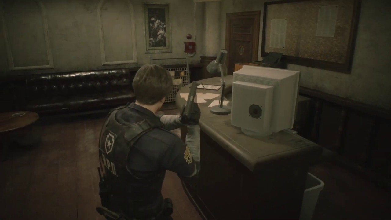 Resident Evil 2 Tresor Code