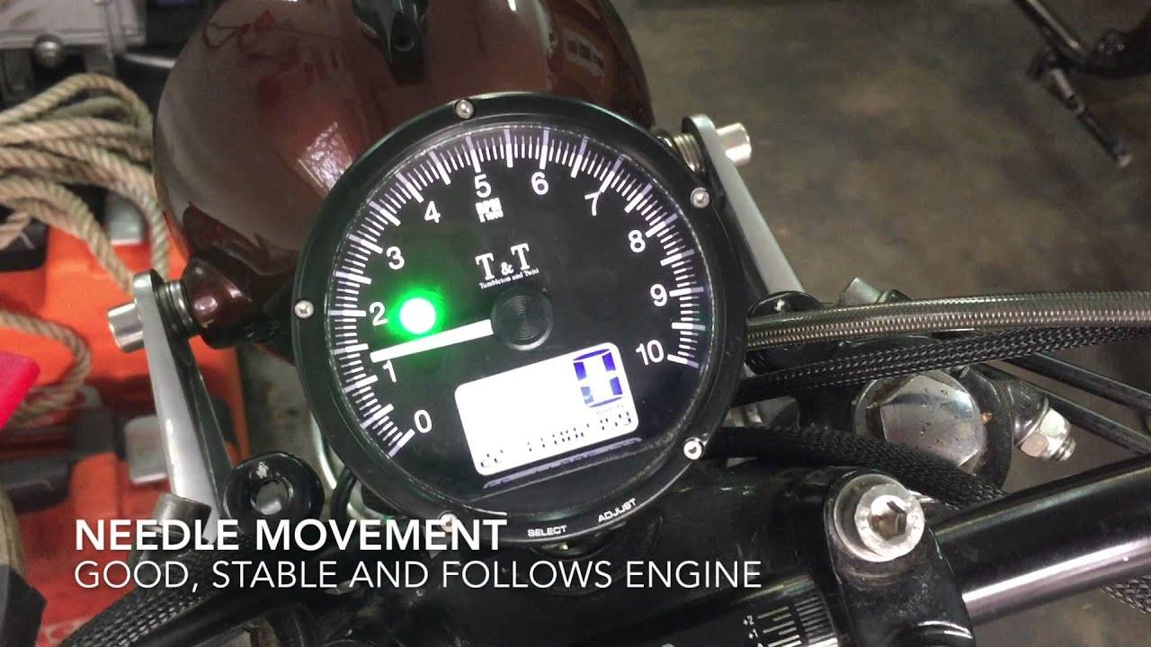 moto tachymètre brancher
