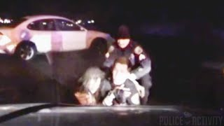 Raw Police Dashcam Video Shows Suspect Trying To Kill Officer
