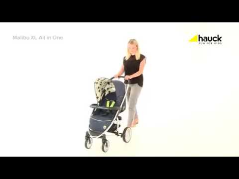 Hauck Malibu All in One XL Travel System