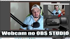 Iniciante - Como configurar e usar a Webcam no OBS Studio.
