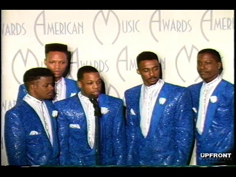 New Edition (Exclusive AMA Backstage) Interview circa 1988 by filmmaker Keith O'Derek