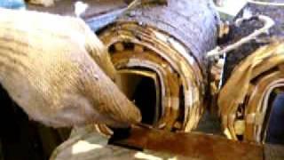 Начало шихтовки трансформатора(, 2009-09-04T18:56:22.000Z)