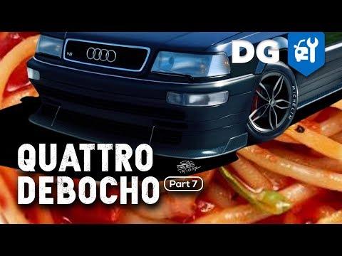 DIY Body Kit for the Audi Quattro Race Car (Part 7)