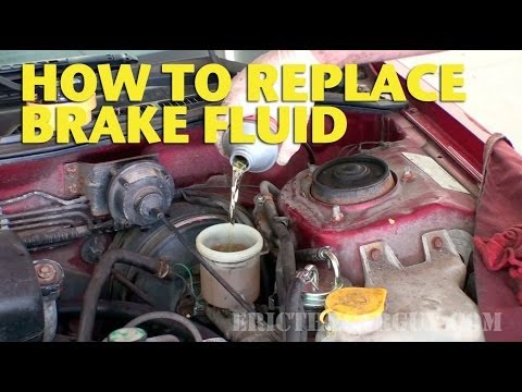 2003 Honda Odyssey Fuel Filter Location How To Replace Brake Fluid Ericthecarguy Youtube