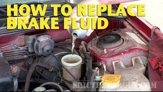 How To Replace  Brake Fluid by Yourself - EricTheCarGuy