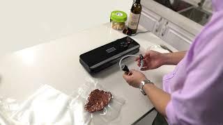 자동 진공포장기 밀봉기 비닐 접착기 압축기