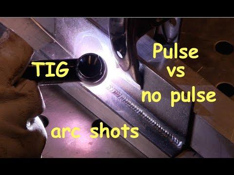 Testing TIG Welding Techniques