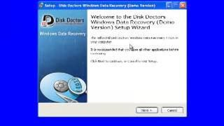 How To Install Disk Doctors Windows Data Recovery