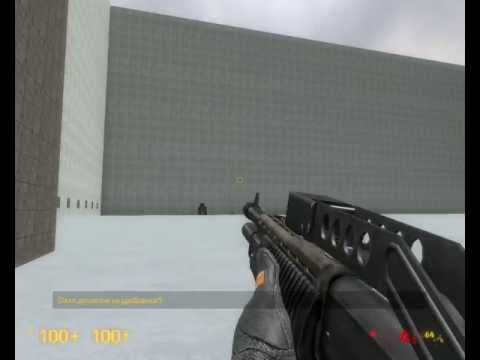 Black Mesa - test new weapons animations