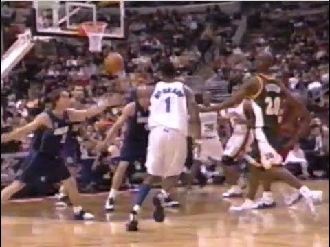 All 19 Dunks from the 2002 NBA All-Star Game