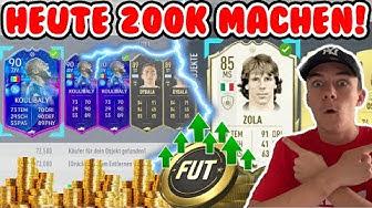 FIFA 20: SO MACHT IHR HEUTE NOCH MEGA EASY 200K!!🤑🔥 | NEUE HEFTIGE TRADING TIPPS ( deutsch ) #RTG
