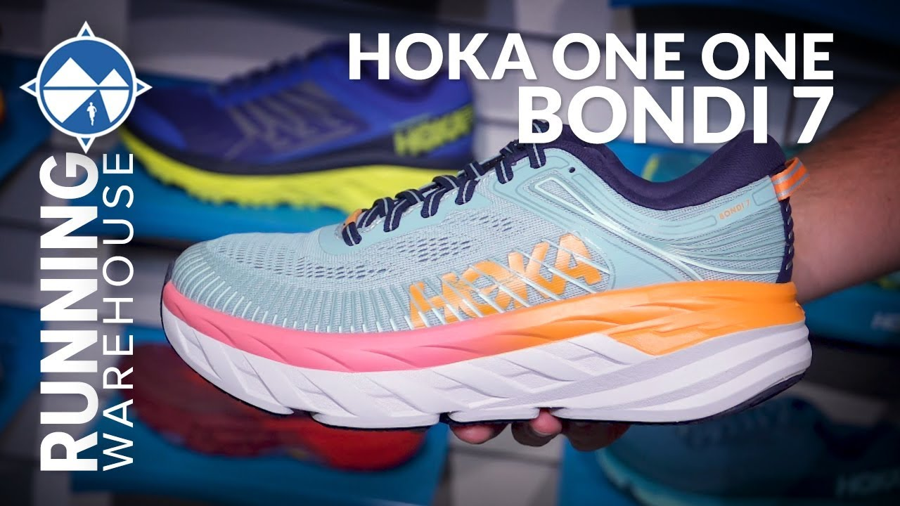 HOKA ONE ONE Bondi 7 First Look | Max Protection With Enhanced Comfort