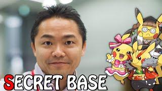 Pokémon Alpha Sapphire - Junichi Masuda Secret Base! *-*