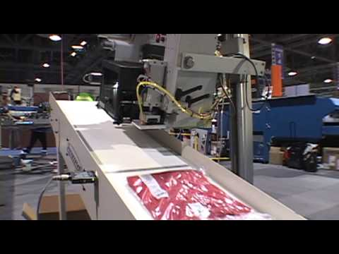 UPA II - Automatic Print/Apply Labeling System - M&R Screen Printing Equipment