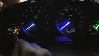 Astra G gösterge  ve kadran çubukları led aydınlatma
