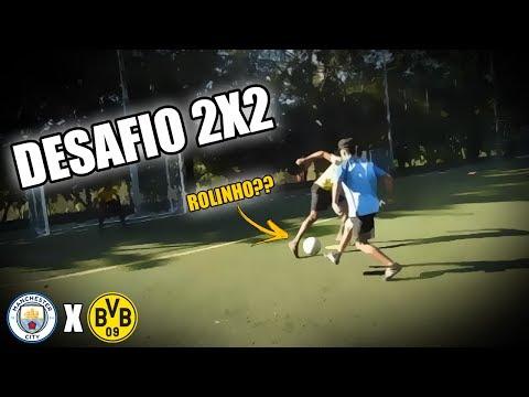 Desafio 2 Vs 2 - Borussia Vs M. City