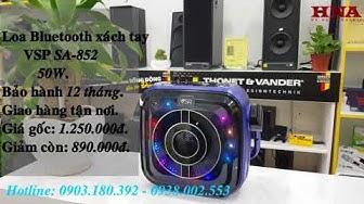 [Chỉ cần 890k] Sở Hữu Ngay Loa Karaoke di động xách tay giá rẻ VSP SA-852