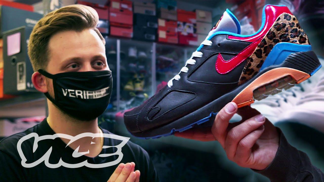 Secret $4 Million Sneaker Vault - YouTube