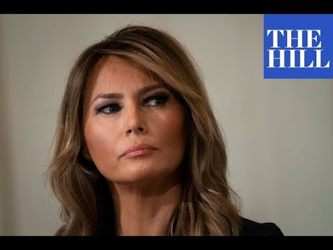JUST IN: First Lady Melania Trump releases farewell video