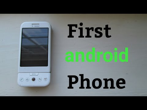 HTC Dream Throwback - First Android Phone