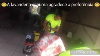 Lavagem a seco poltronas