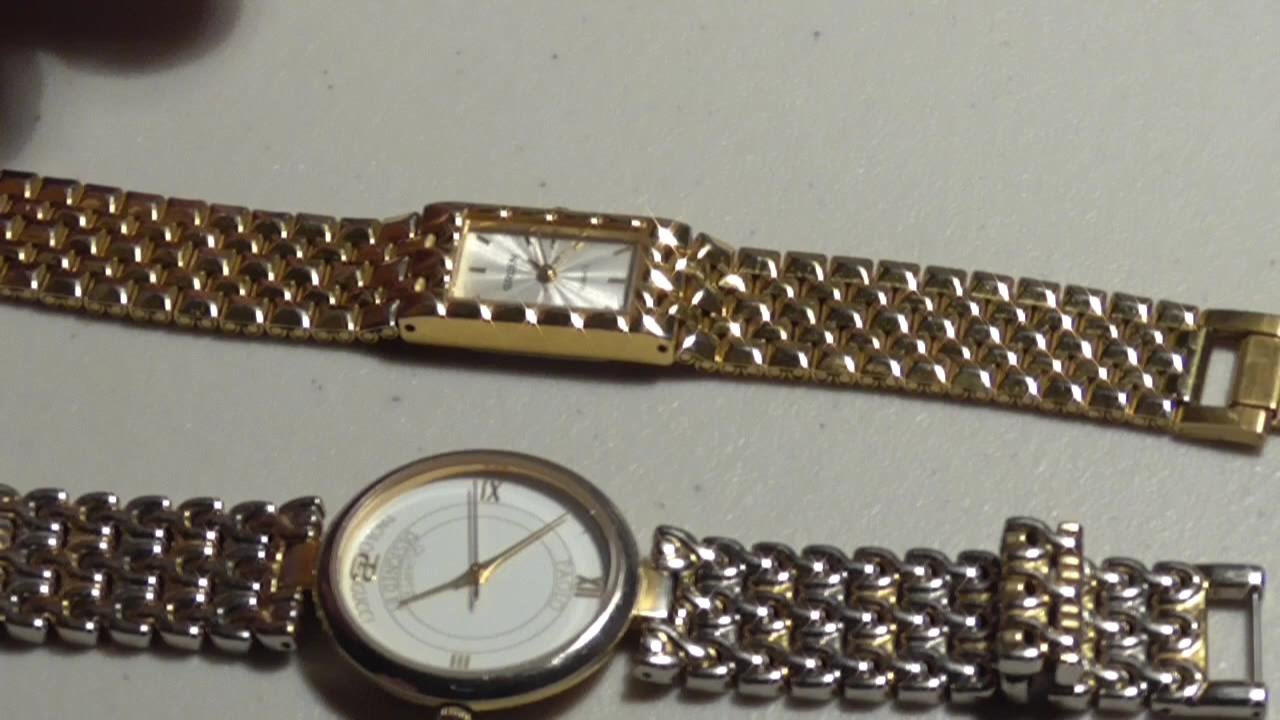 d7a2a023d How to open and close snap off watch back cover and change Batteries ...