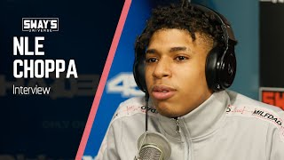 NLE Choppa Speaks Helping Youth With Mental Health Issues and Ties to JuiceWRLD | SWAY'S UNIVERSE
