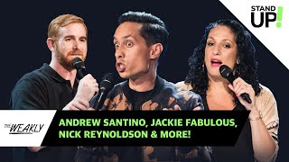 Edition 104 | The Weakly: Andrew Santino, Jackie Fabulous & Nick Reynoldson | Laugh Out Loud Network
