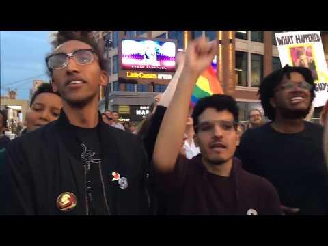 Kid Rock protest groups splinter, clash at Little Caesars Arena