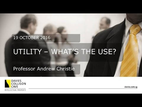 DCC Singapore: Andrew Christie on Utility