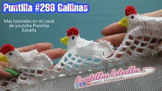Puntilla #296 Gallinas