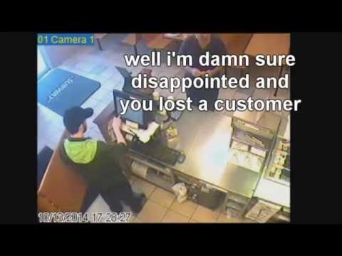 Crazy Subway Customer Yells At Employee For Charging Too Much!
